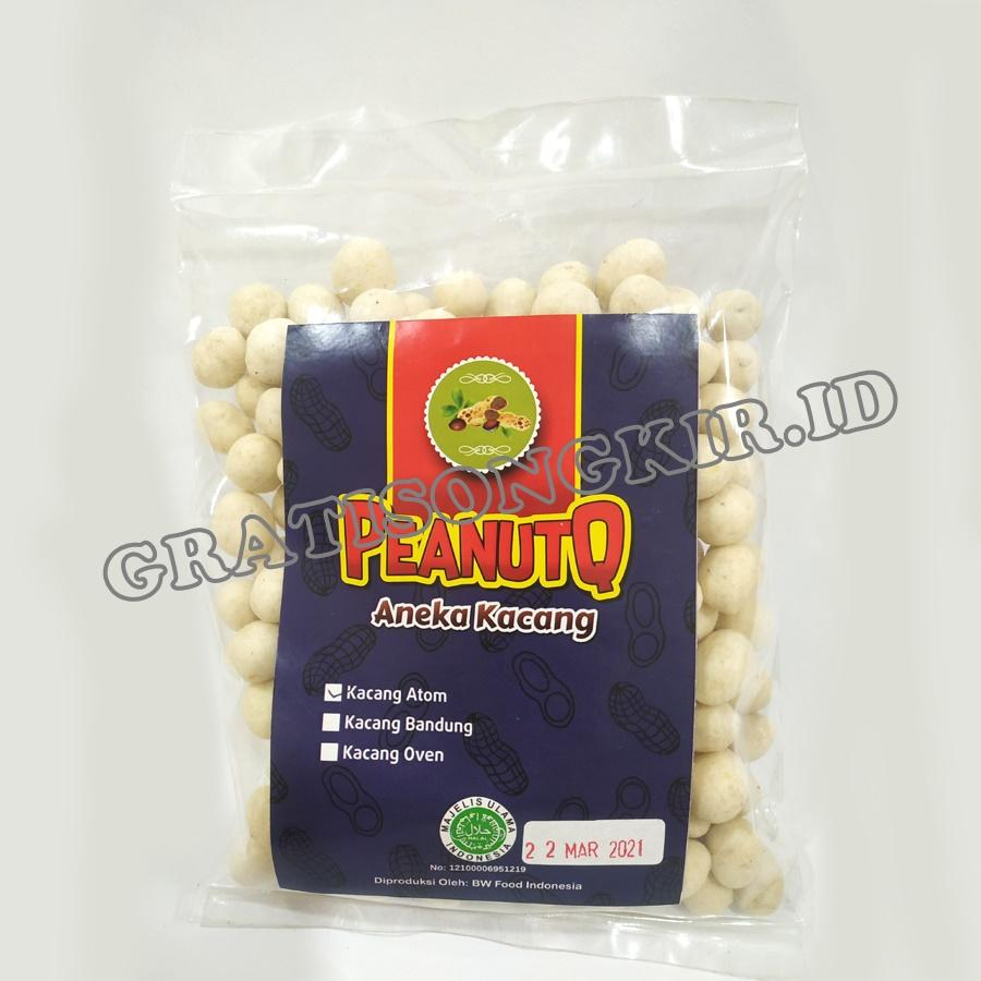 Kacang Atom PEANUTQ 200gr