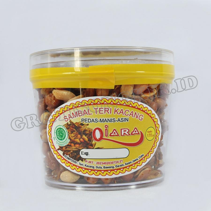 Makanan Ringan Sambal Teri Kacang QIARA