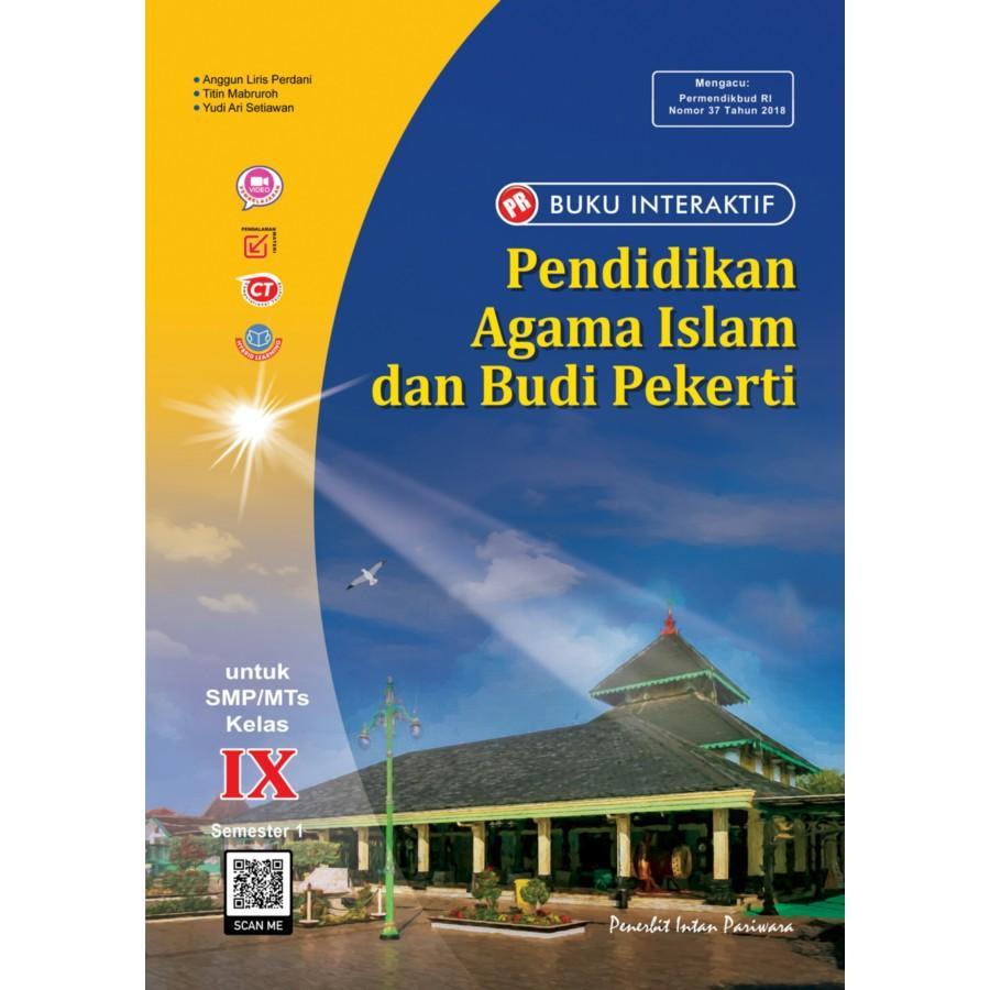 Buku Interaktif: PR Pendidikan Agama Islam dan Budi Pekerti IX Tahunan
