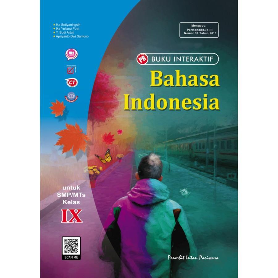 Buku Interaktif: PR Bahasa Indonesia IX Tahunan