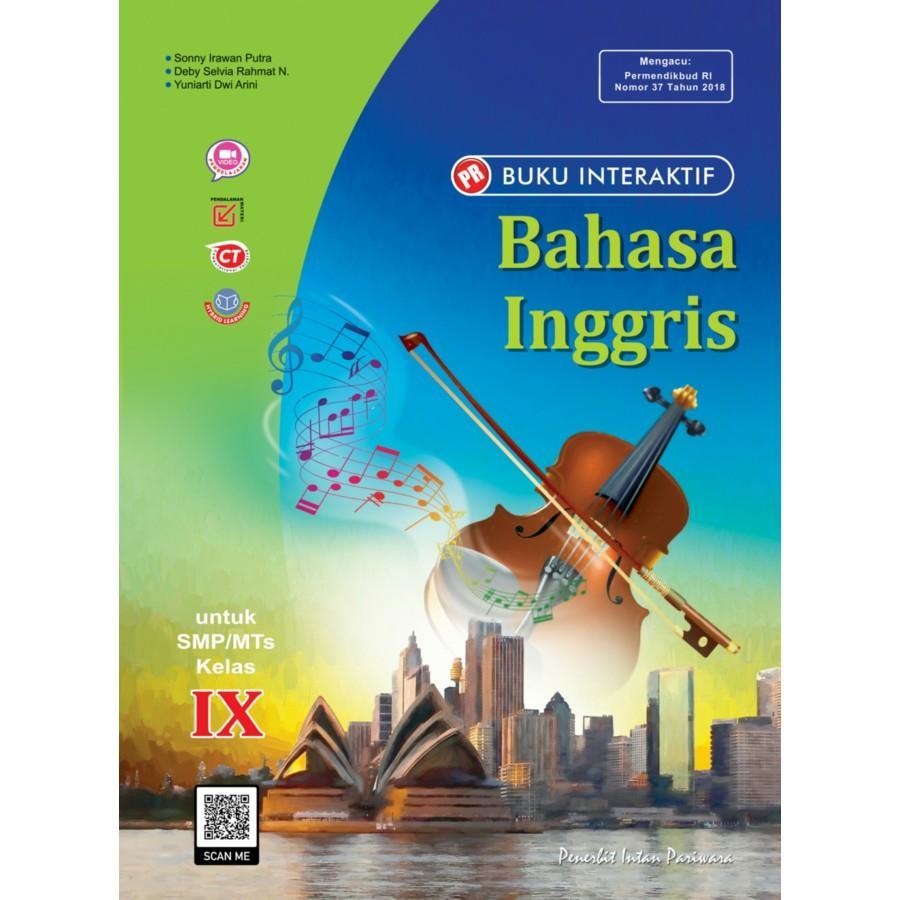 Buku Interaktif: PR Bahasa Inggris IX Tahunan