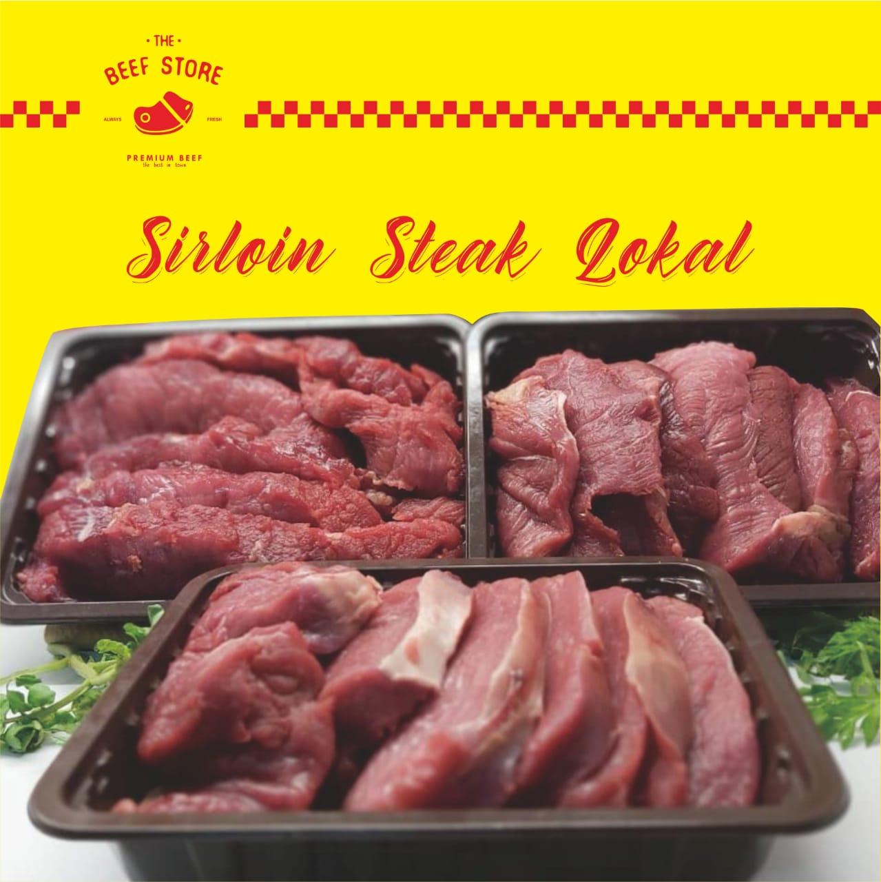Sirloin Steak /Daging Sirloin 1 kg (tanpa lemak)