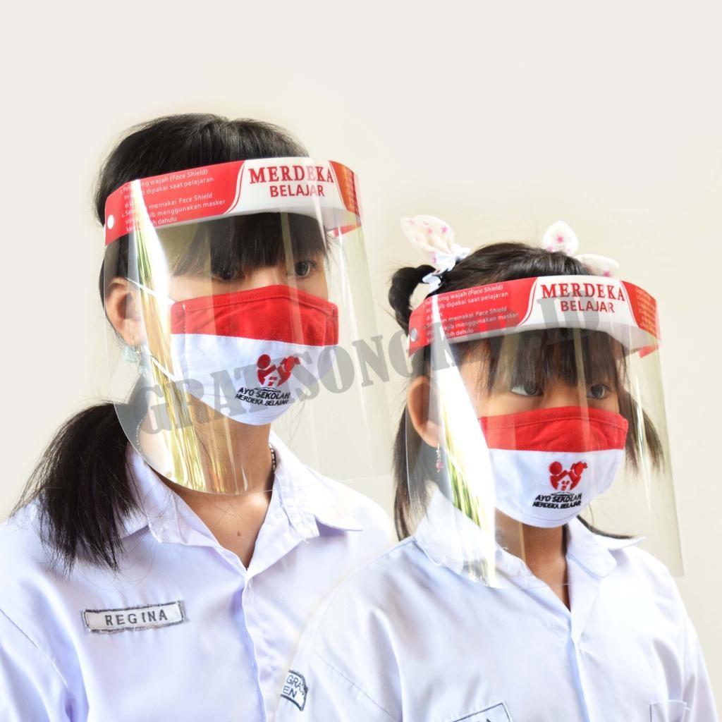 Face Shield (Pelindung Wajah) Anak Retail