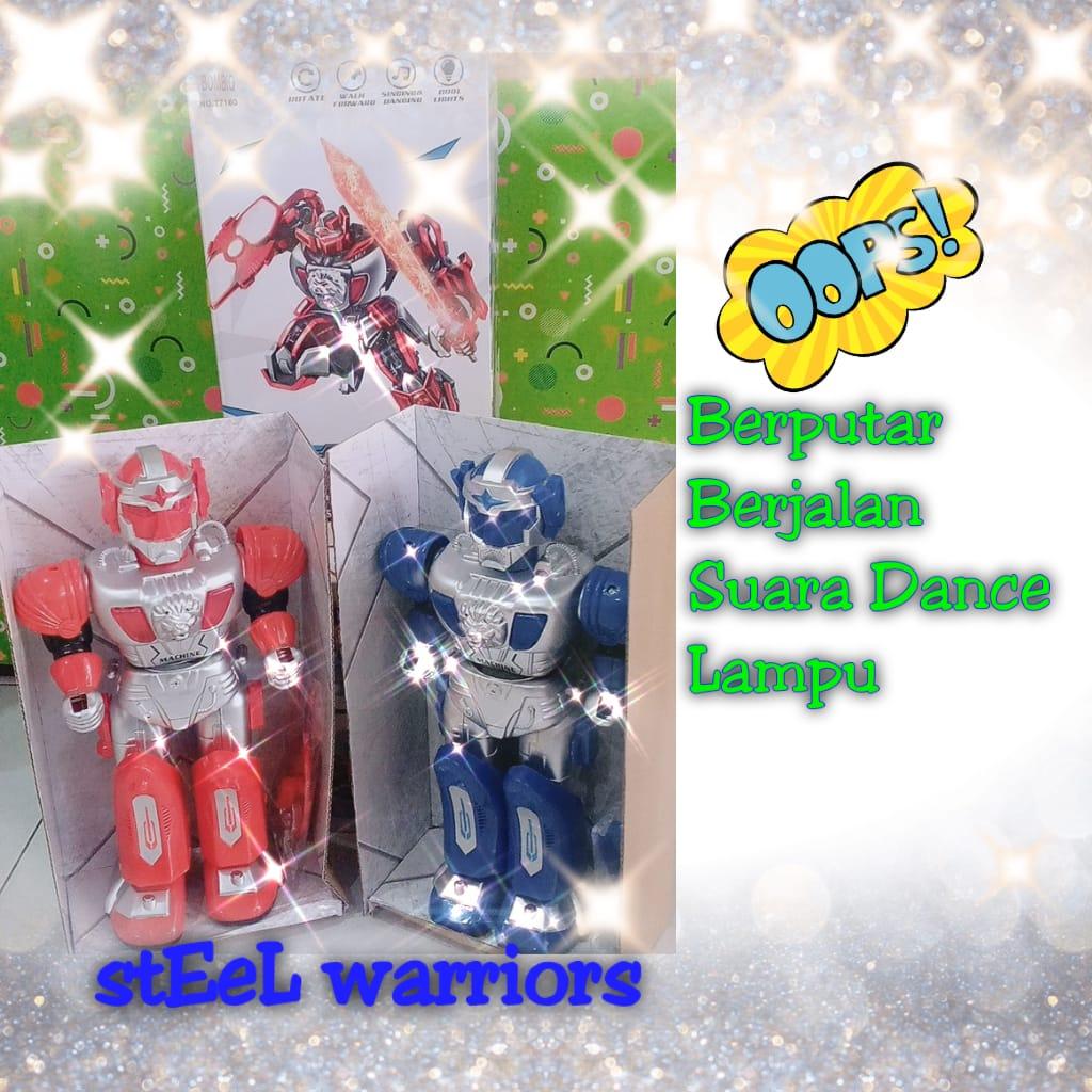 Mainan Anak Robot Steel Warriors