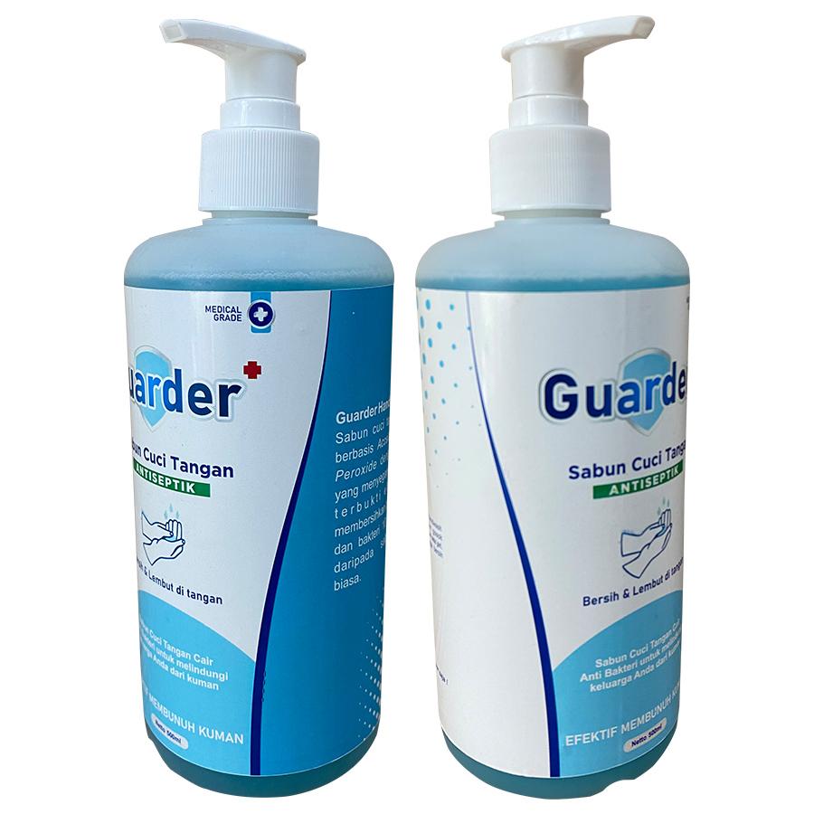 Sabun Cuci Tangan Antiseptik GUARDER 500 ml