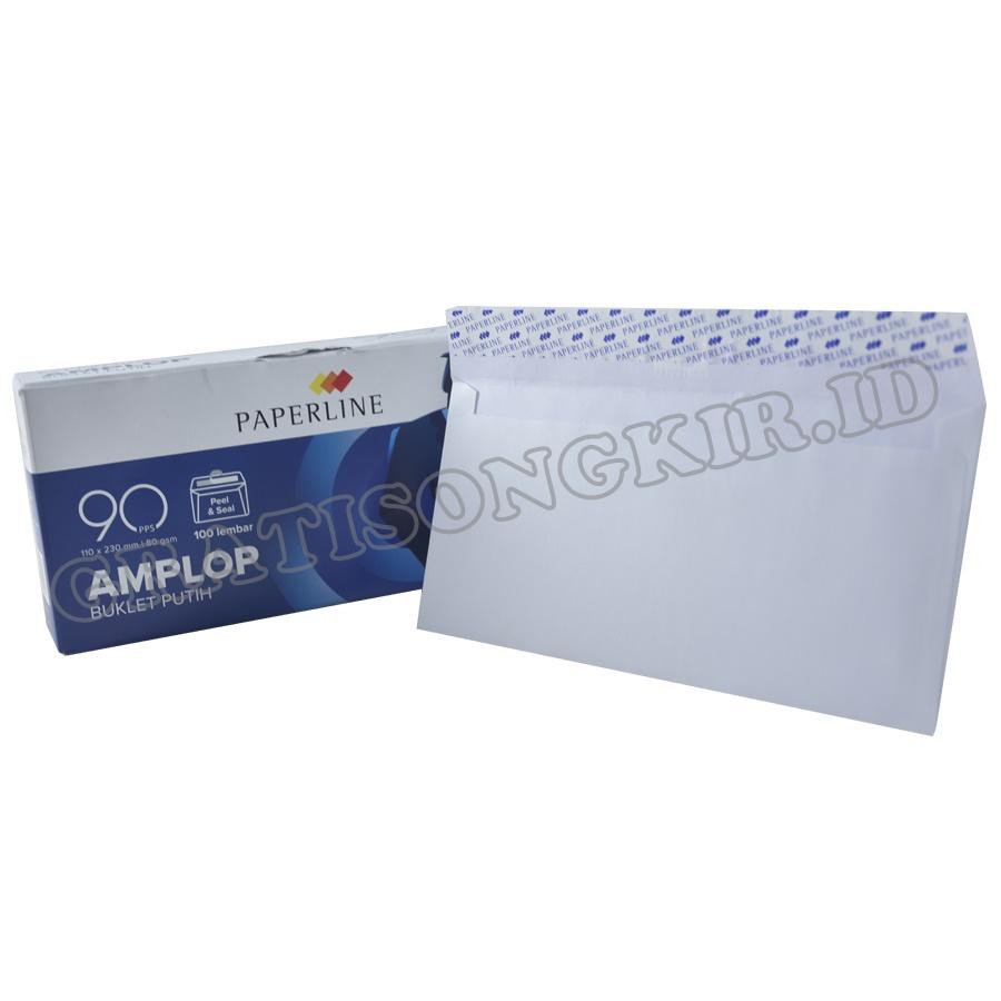 Amplop PAPERLINE Kabinet Polos 110 x 230 mm 100 pcs 80 gr