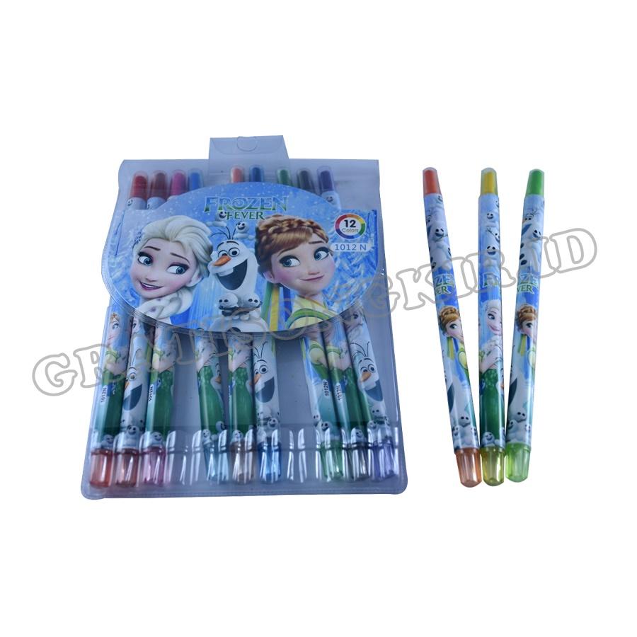 Crayon Putar Panjang 12 Warna